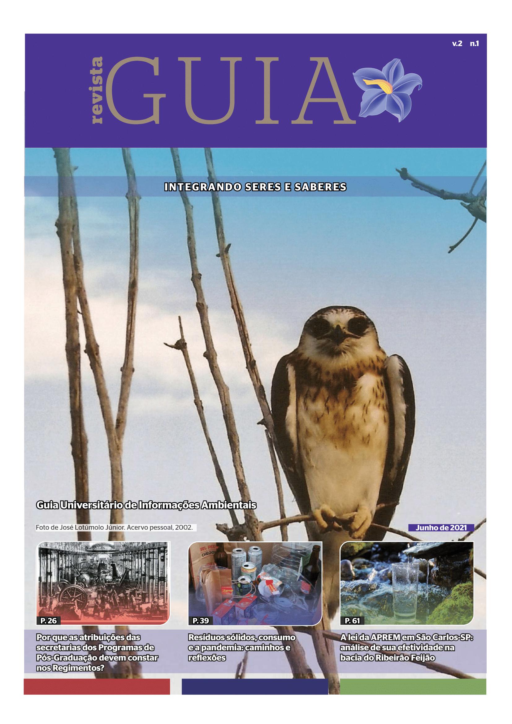 Visualizar v. 2 n. 1 (2021): Revista GUIA - Integrando seres e saberes